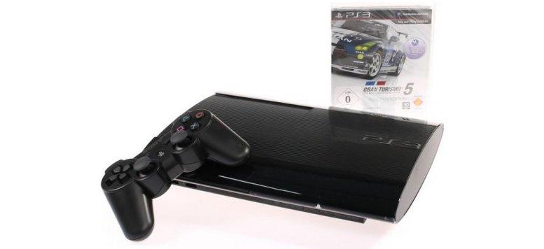 Sony PlayStation 3 Ultra Slim 500 GB mit Gran Turismo 5 für 259,00 Euro