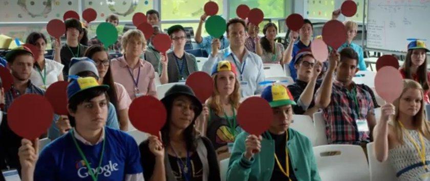 Google goes Hollywood: Mit Owen Wilson und Vince Vaughn zum Praktikum