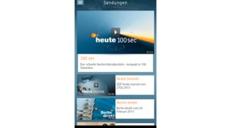 ZDF Heute – Klasse App für Smartphones, Tablets müssen warten
