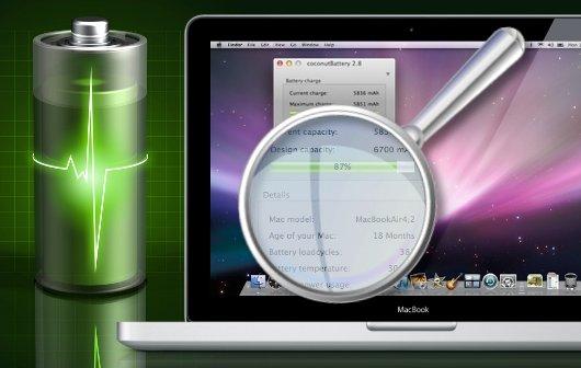 MacBook: Ladezyklen auslesen und Kapazität des Akku bestimmen