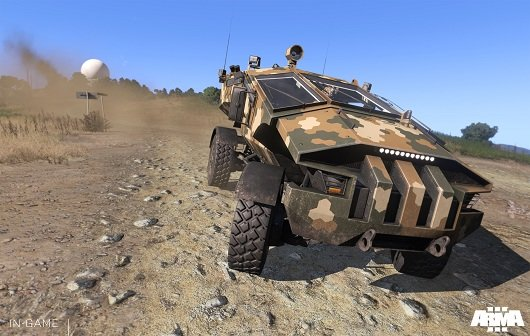 Arma 3: Alpha auf Version 0 54 geupdated