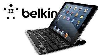 Tastatur-Hülle von Belkin fürs iPad mini: Alternative zu Logitech