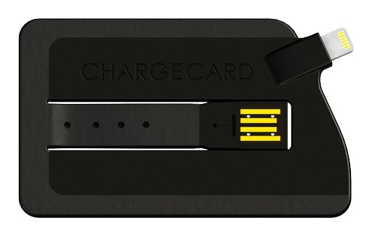 iPhone 5: ChargeCard - ultraflaches Ladekabel