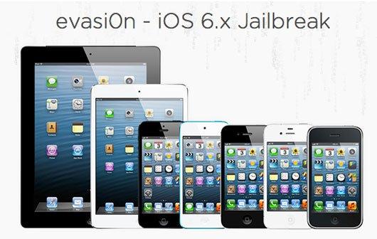 evasi0n Untethered Jailbreak iOS 6