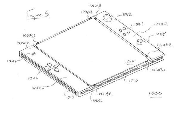 Sony patentiert EyePad
