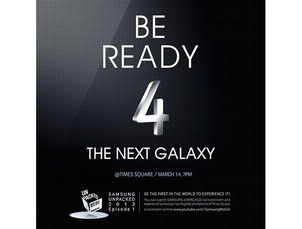 Samsung Galaxy S4 Times Square