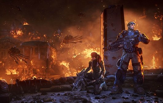 Gears of War - Judgment: Neuer Trailer, neue Waffe