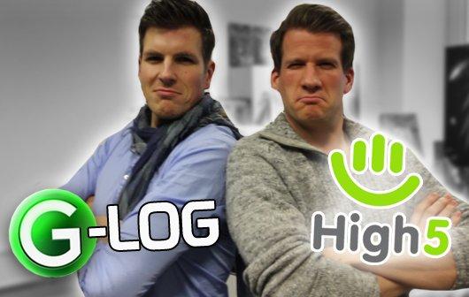 G-Log #14 - Besuch bei High5, Unfug auf der Ökomesse