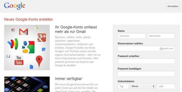gmail: e-mail-adresse erstellen