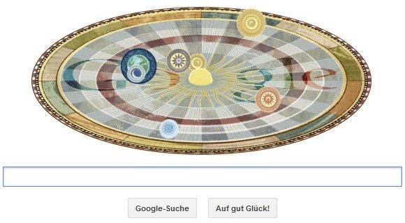 Google-Doodle über Kopernikus