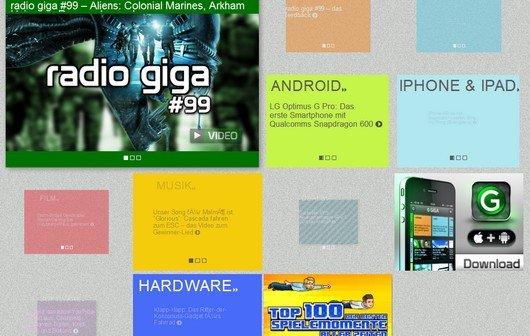 Harlem Shake für Webseiten - Let GIGA shake!