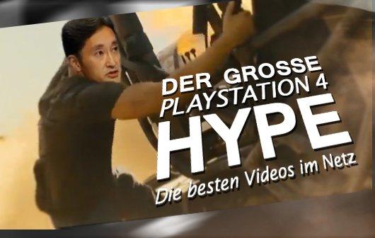 Der große Playstation 4 Hype - Die besten Videos im Netz
