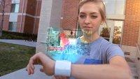 iWatch-Konzept: Armbanduhr mit Hologramm-Display (Video)