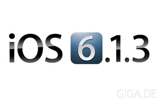 iOS 6.1.3: Apple veröffentlicht Beta 2 für Entwickler