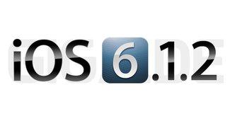 iOS 6.1.2: Apple veröffentlicht Update [Download]