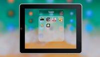 Auf dem iPad Ordner erstellen und Apps organisieren