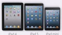 iPad 5: So dürfte es aussehen - Größenvergleich