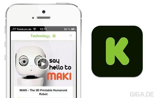 App of the Day: Offizielle Kickstarter App für iPhone