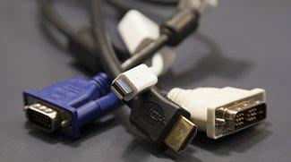 Mac mit Fernseher verbinden: Welches Kabel, welcher Anschluss?