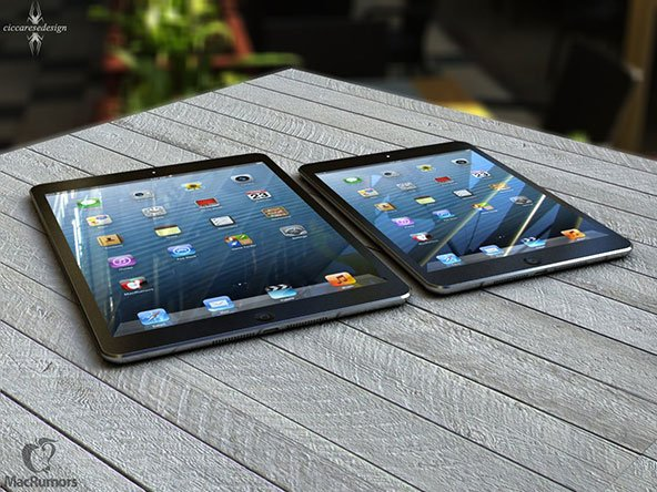 MacRumors: iPad 5 Rendering