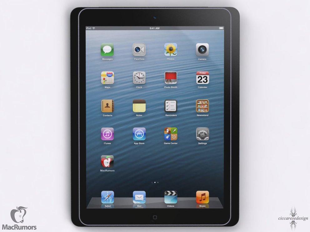 iPad 5 im Vergleich zum iPad 4