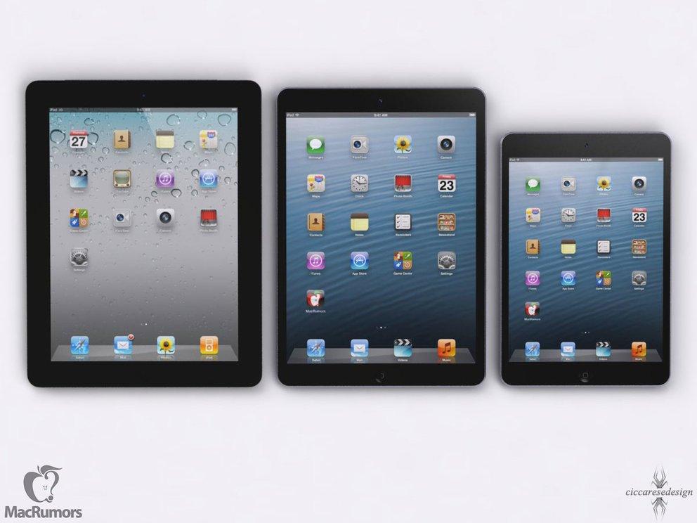 iPad 4S - iPad 5 - iPad mini