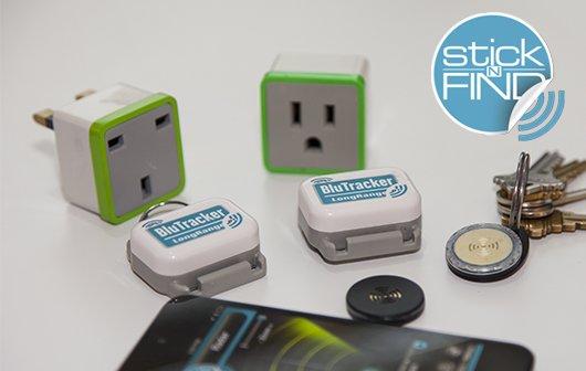 MWC 2013: Clevere Bluetooth-Gadgets von Stick-n-Find
