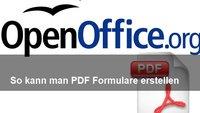 So kann man in OpenOffice Formulare erstellen