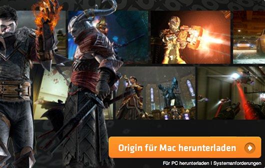 EA Origin für Mac: Steam-Konkurrent startet mit Angeboten