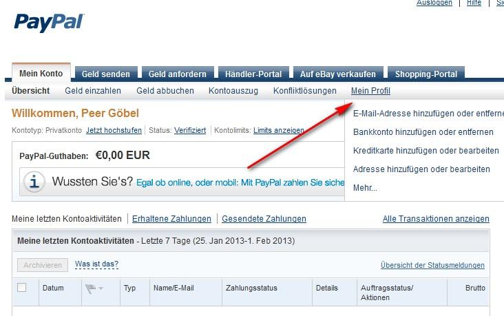 Paypal Wie Schnell Uberweisung