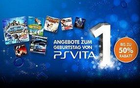 PSN: Sonderangebote zum PS Vita Geburtstag