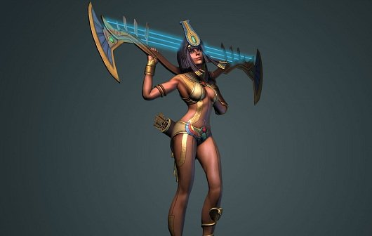 Smite: Neues Video stellt Neith vor