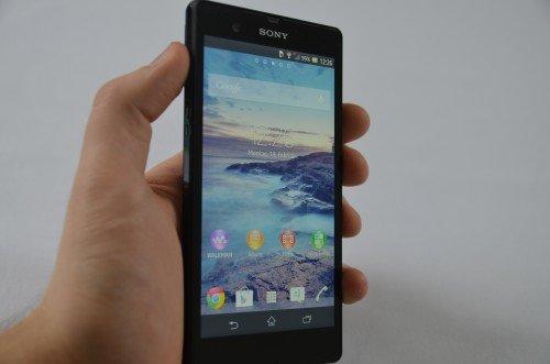 Sony Xperia Z Displayprobleme