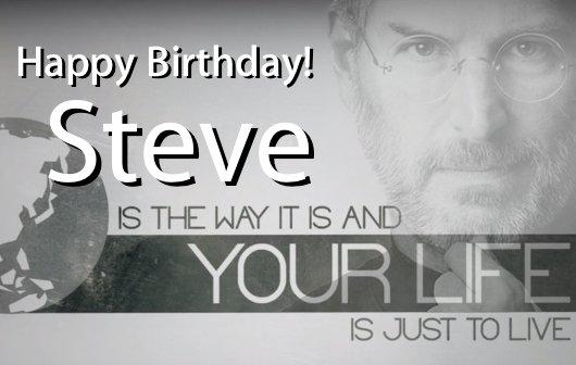 Happy Birthday Steve!