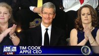 Tim Cook bei Präsidenten-Rede: Obama lobt Apple für Mac-Produktion in den USA