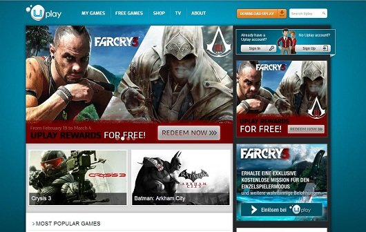 Uplay: Bietet ab sofort Third-Party Titel an