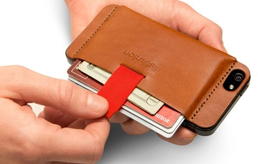 Brieftasche fürs iPhone 5: Wally - dezente Alternative zum BookBook
