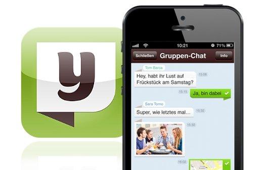 yuilop – kostenlos telefonieren & SMS: Jetzt neu mit Gruppenchat