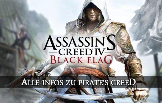 Assassin's Creed 4: Black Flag enthüllt - Alle Infos zu Pirate's Creed