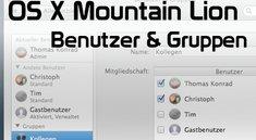 OS X Mountain Lion: Benutzer, Gruppen und Kindersicherung erklärt