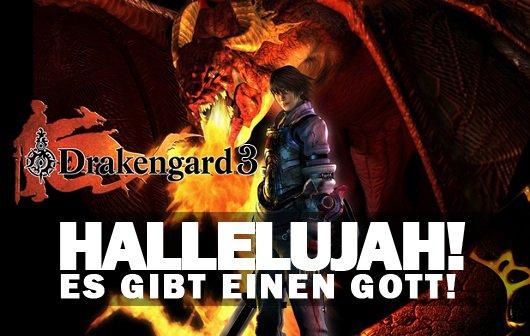 Hallelujah, es gibt einen Gott: Drakengard 3 angekündigt