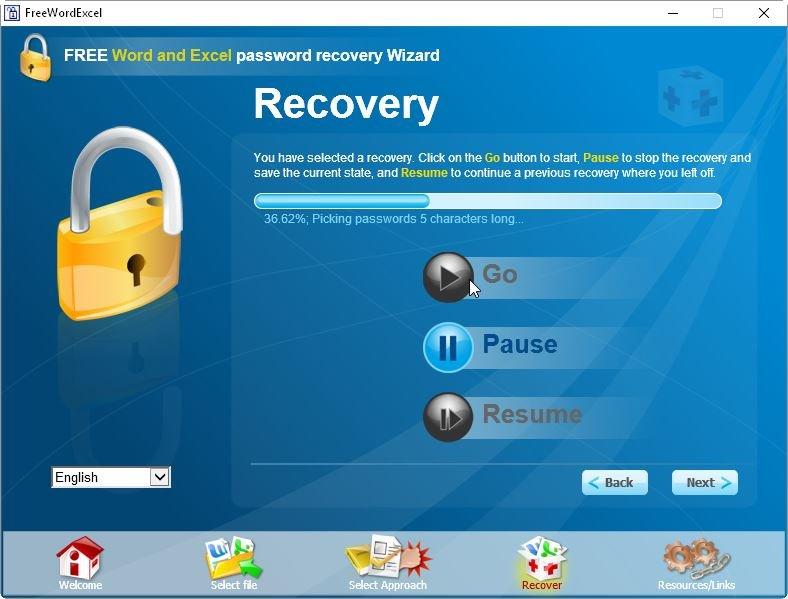 FreeWordExcelPasswordRecovery