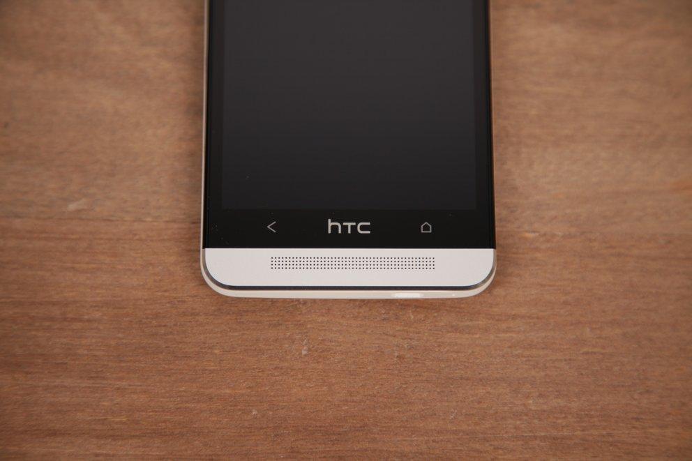 HTC One - Logo dient auch als Button