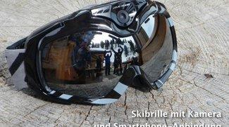 Liquid Image Apex HD+: Skibrille mit WLAN und Kamera als GoPro-Alternative