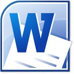 Microsoft Word 2010 Logo groß