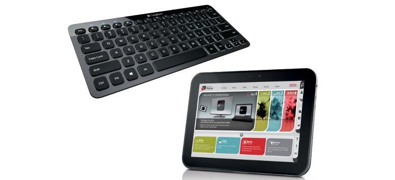 Osterrabatte: Logitech Bluetooth Keyboard und Toshiba AT300-101