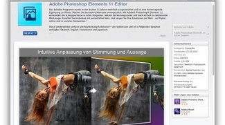 Adobe Photoshop Elements 11 neu im Mac App Store