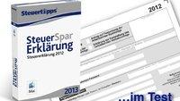 Steuer-Spar-Erklärung 2013 (Mac) im Test: Hilfe für Jedermann