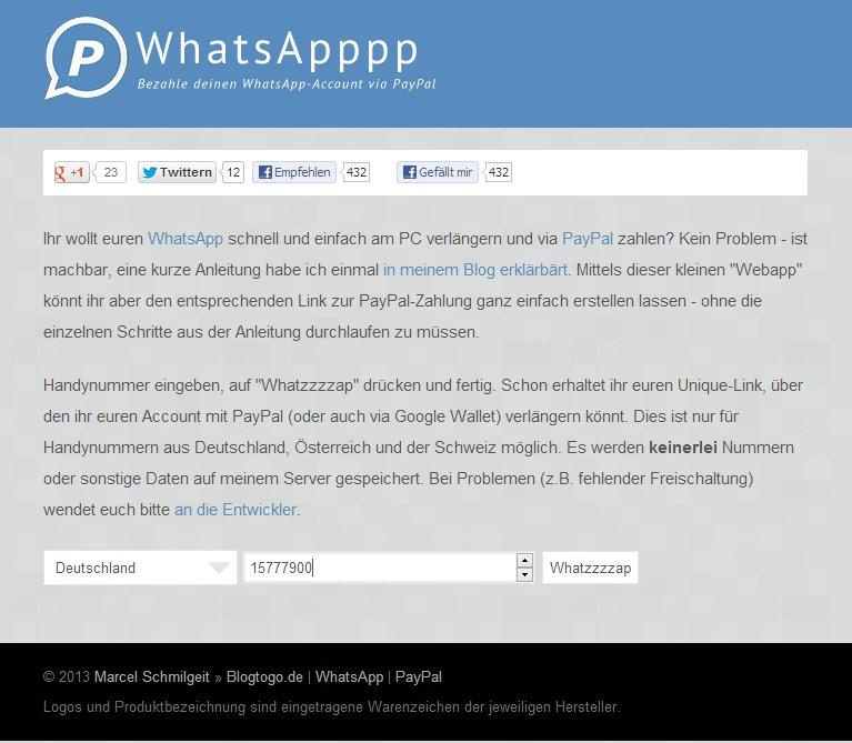 Whatsappp Site