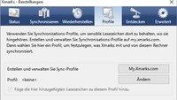 Xmarks Firefox - Bookmarks online verwalten